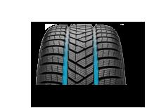 Pirelli Winter Sottozero 3 wider grooves